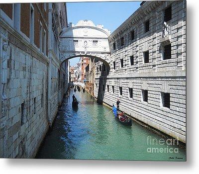 Venice Series 3 Metal Print