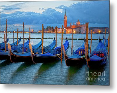 Venice View To San Giorgio Maggiore Metal Print by Heiko Koehrer-Wagner