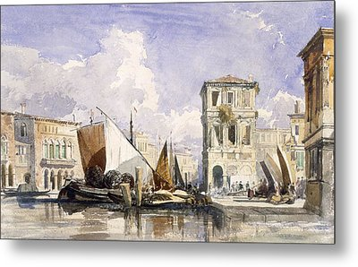 Venice Metal Print by William James Muller
