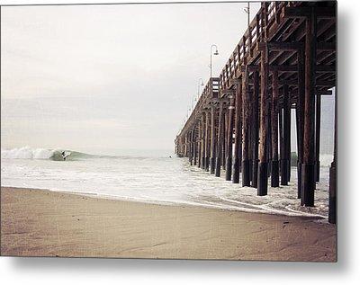 Ventura California Pier  Metal Print by Bree Madden
