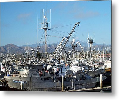 Ventura Harbor  Metal Print