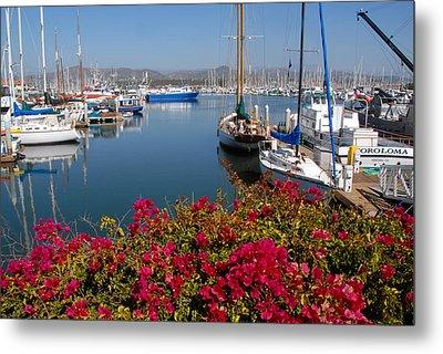 Ventura Harbor Metal Print