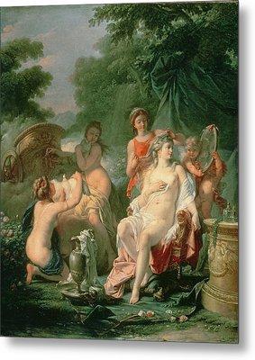 Venus At Her Toilet, 1760 Metal Print