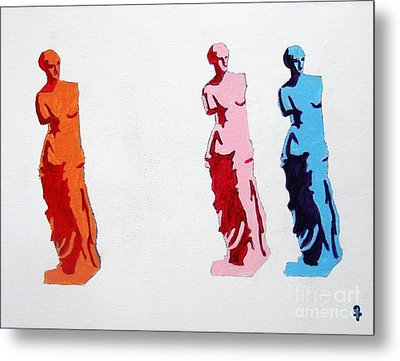 Venus De Milo Statue Metal Print by Venus