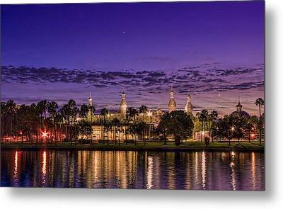 Venus Over The Minarets Metal Print