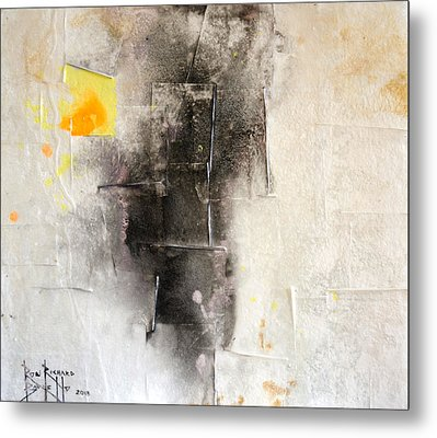 Metal Print featuring the painting Veracity by Ron Richard Baviello