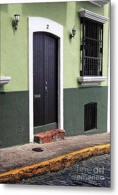 Verde En San Juan Metal Print by John Rizzuto