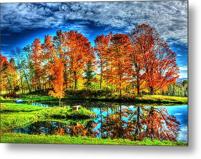Vermont Colors Metal Print