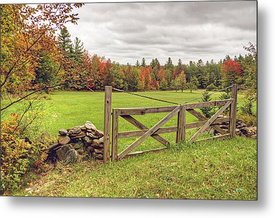 Vermont Countryside Metal Print
