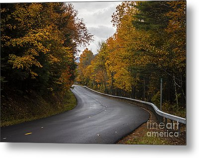 Vermont Fall Metal Print