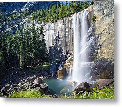 Vernal Falls Yosemite Metal Print by Mike Lee