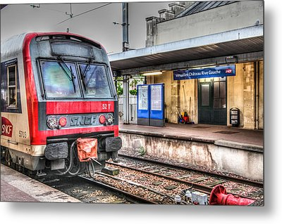 Metal Print featuring the photograph Versailles Metro by Ross Henton