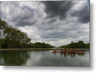 Metal Print featuring the photograph Versailles Storm by Ross Henton