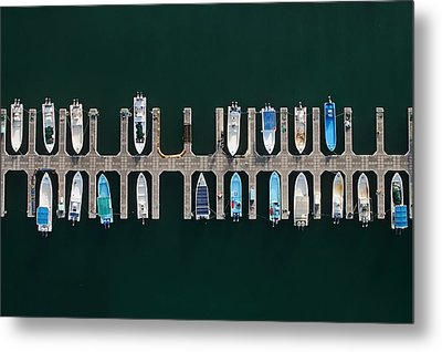 Vertical Alignment Metal Print by Shoayb Hesham Khattab
