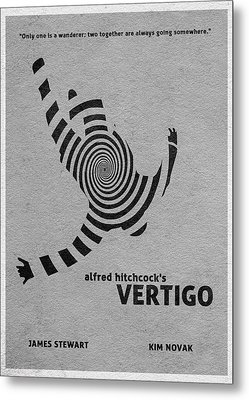 Vertigo Metal Print by Ayse Deniz