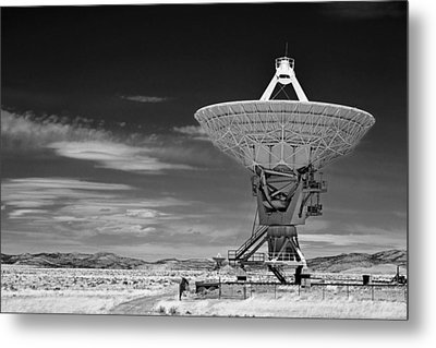 Very Large Array Radio Telescopes Metal Print by Christine Till