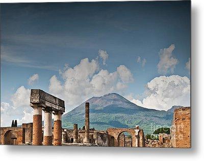 Vesuvius Metal Print by Marion Galt