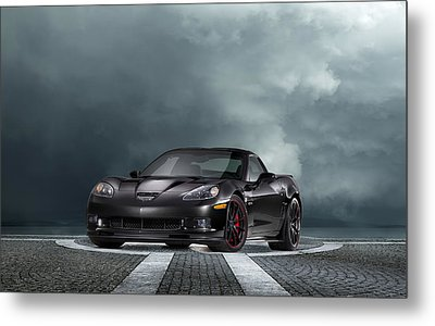 Vette Dream Metal Print by Peter Chilelli