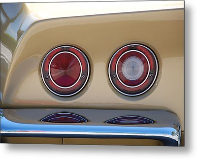 Vette Lights Metal Print by Rob Hans
