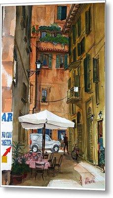 Via Piacenza Metal Print