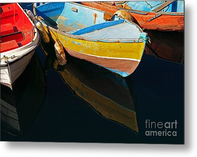 Vibrancy At Puerto De Morgan. Metal Print by Pete Reynolds