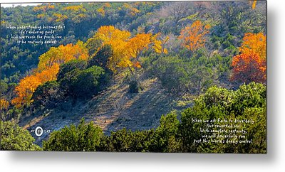 Vibrant In Faith Metal Print