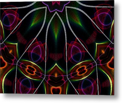 Vibrational Tendencies Metal Print by Owlspook