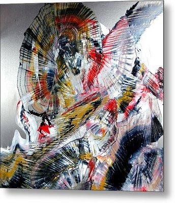 Vibrations Metal Print by David Hatton