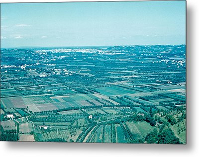 Vicenza Italy 1962  Metal Print by Cumberland Warden