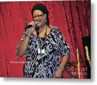 Metal Print featuring the photograph Vicki Stevens by Tonia Noelle