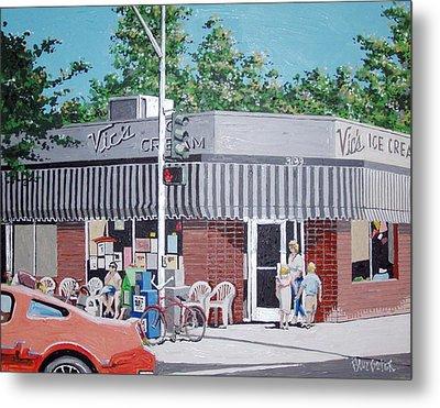 Vic's Ice Cream No. 4 Metal Print by Paul Guyer