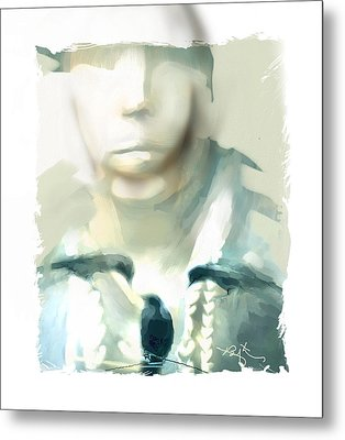Victim Of The Heart Metal Print by Bob Salo