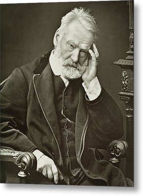 Victor Hugo Metal Print by French Photographer