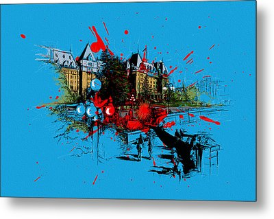 Victoria Art 003 Metal Print by Catf