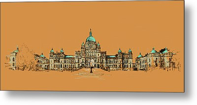 Victoria Art 005 Metal Print by Catf