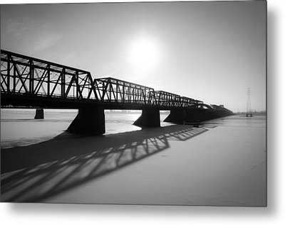 Victoria Bridge 1 Metal Print by Eric Soucy