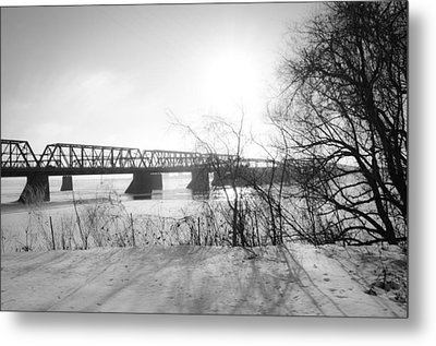 Victoria Bridge 4 Metal Print by Eric Soucy