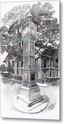 Victoria Clock Tower Metal Print by Jimmy McAlister