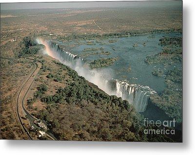 Victoria Falls Metal Print by Gregory G. Dimijian