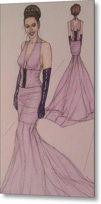Victoria Renee's Fashions Metal Print by Vicki  Jones