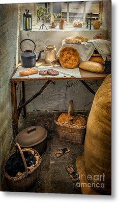 Victorian Bakers Metal Print