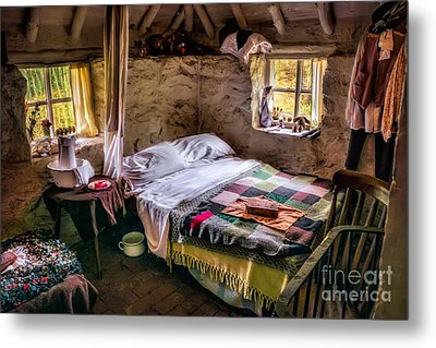 Victorian Bedroom Metal Print by Adrian Evans