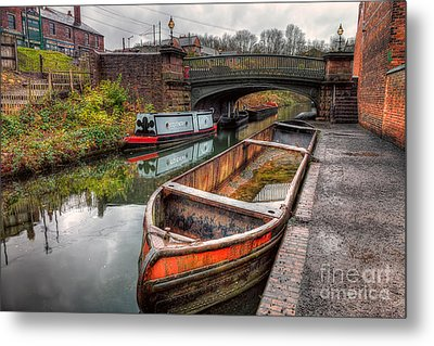 Victorian Canal Metal Print by Adrian Evans