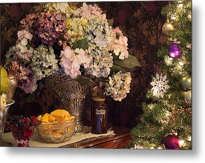 Victorian Christmas Metal Print by Patricia Babbitt