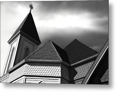 Victorian Church Metal Print by Larry Butterworth