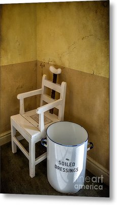Victorian Hospital Chair Metal Print by Adrian Evans