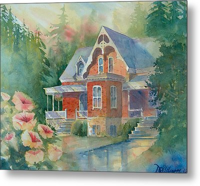 Victorian House Metal Print by David Gilmore