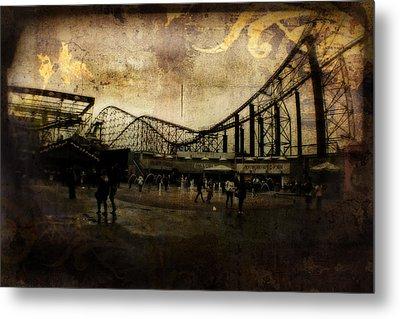 Victorian Roller Coaster - Circa 2014 Metal Print by Doc Braham