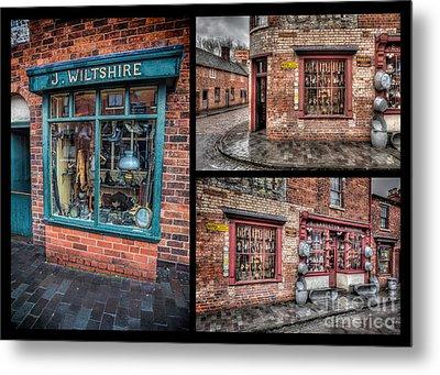 Victorian Shops Metal Print by Adrian Evans