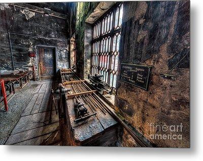 Victorian Workshops Metal Print by Adrian Evans